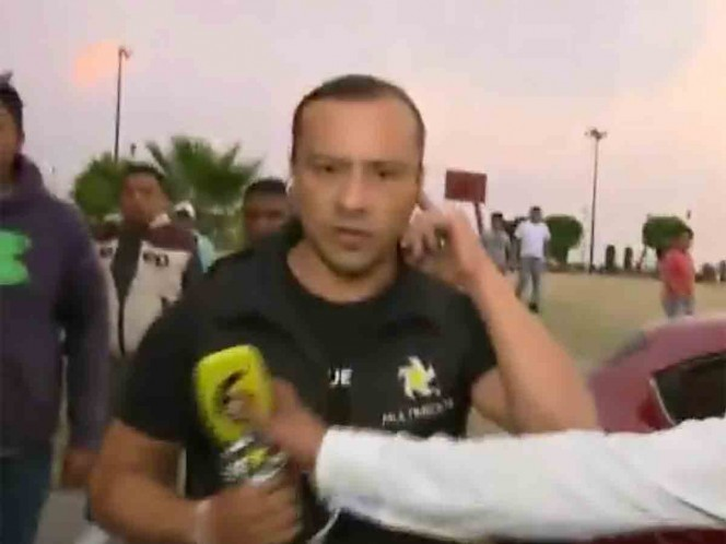 Golpean, hieren y roban a reportero de Multimedios en Coacalco