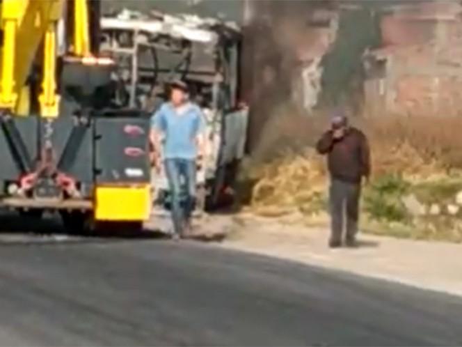 Operativo en Guanajuato deriva en bloqueos y quema de autobuses