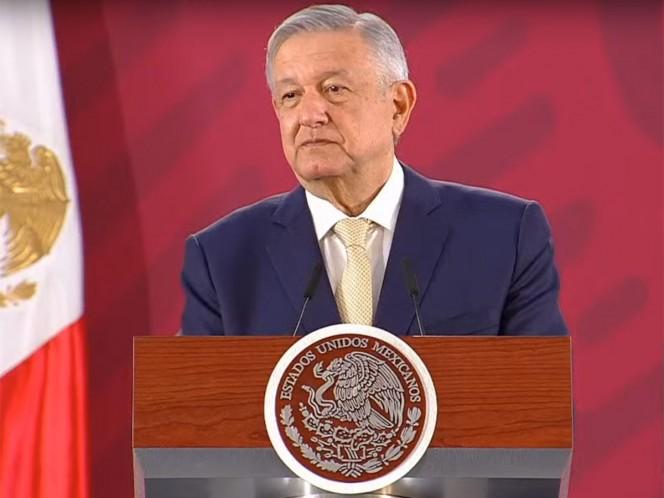 """El presidente mencionó que el presidente Donald Trump ha reconocido que México es un país independiente, soberano, """"no somos colonia, no somos protectorado""""."""
