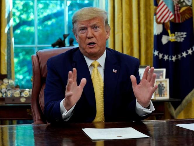 Anuncia Trump aranceles a acero de Brasil y Argentina