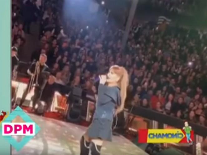 Alejandra Guzmán imita y le dedica Hey Güera a Paulina Rubio