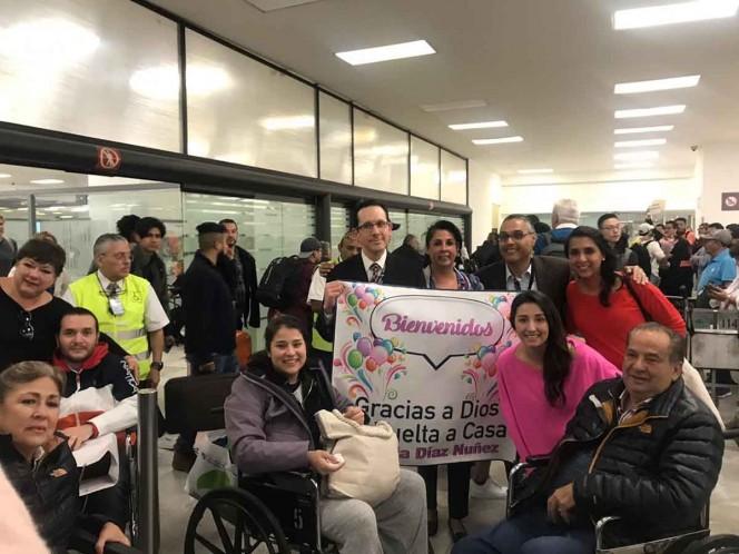 Mexicanos heridos en Jordania regresan al país