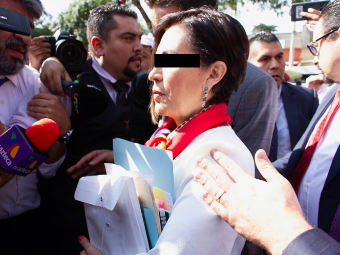 Niegan a Rosario Robles suspensión contra vinculación a proceso