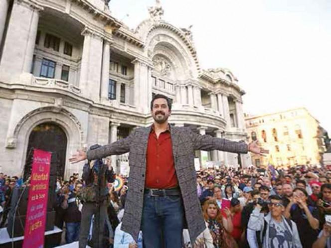 Cháirez: invaden obra con discurso de odio; lamenta acuerdo del INBAL con los Zapata