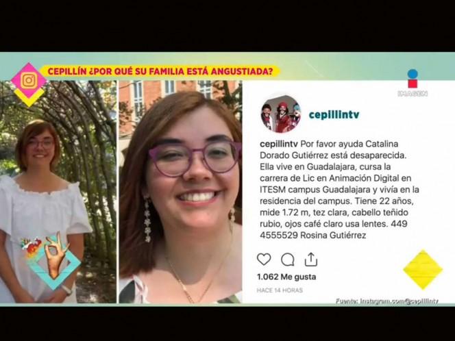 Cepillin pide ayuda desesperadamente para encontrar a su familiar desaparecida