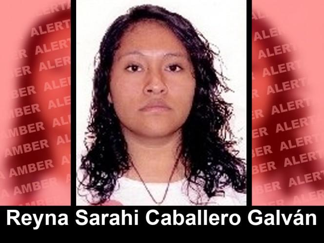 Reyna Sarahi Caballero Galván, Alerta Amber, Ayúdanos a localizar a Reyna, desapareció en la Miguel Hidalgo