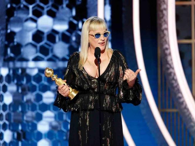Patricia Arquette critica a Trump durante los Globos de Oro 2020