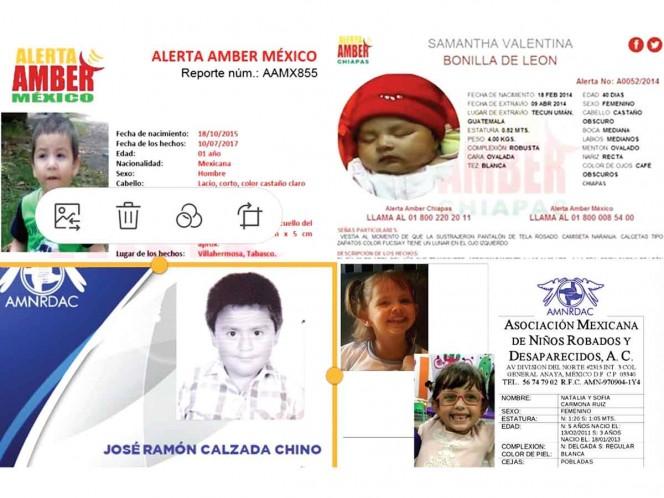 México busca a 11 mil niños desaparecidos;' a alerta Amber no sirve': activistas