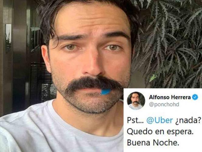 Alfonso Herrera denuncia terrible experiencia con Uber