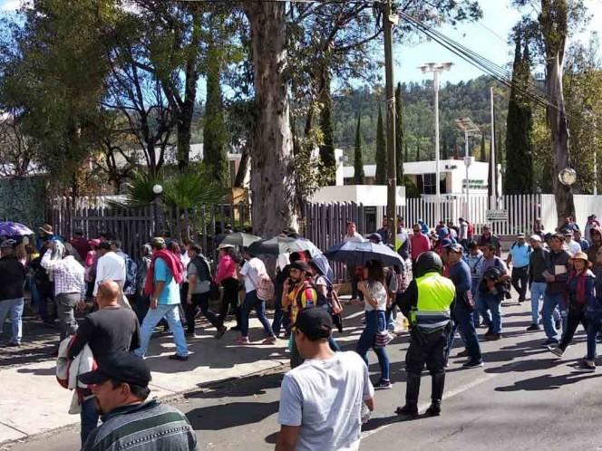 CNTE se fractura en Michoacán, dos grupos pelean por la dirigencia