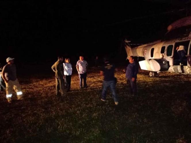 La aeronave procedente de Veracruz hizo escala en Tuxtla Gutiérrez y se dirigía a Tapachula