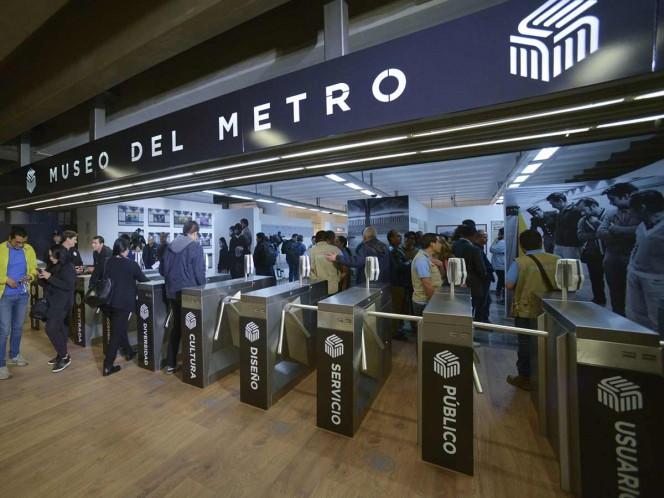 Museo del Metro celebra tres años con un millón 877 mil visitas