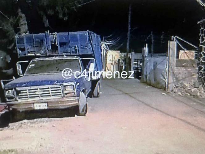 Por esta calle de la alcaldía Xochimilco, Gabriela y sus hijos huyeron hacia un hospital. Foto: Carlos Jiménez