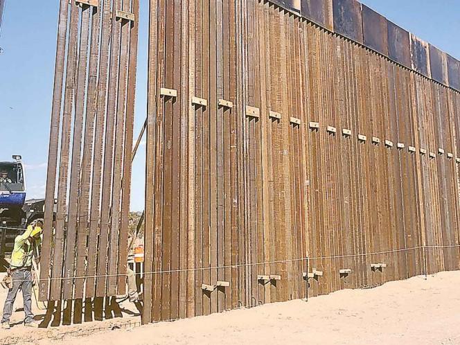 La edificación del muro de Trump ya tiene un impacto ambiental pues está utilizando agua de la región, en detrimento de las especies que la usan para su sobrevivencia. Fotos: Especial