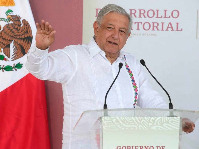 The president stated that the Government of the Republic has healthy public finances. Photo: Cuartoscuro