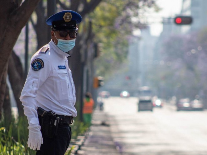 Detected 9 police officers with Covid-19 in CDMX; 2 are hospitalized