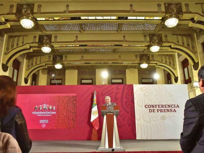 Conferencia matutina de AMLO del 23 de abril 2020