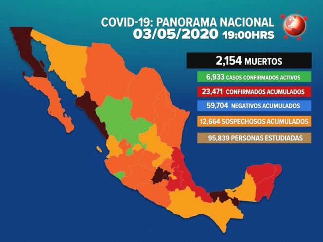 Revive la conferencia del domingo 3 de mayo de 2020 — Coronavirus México