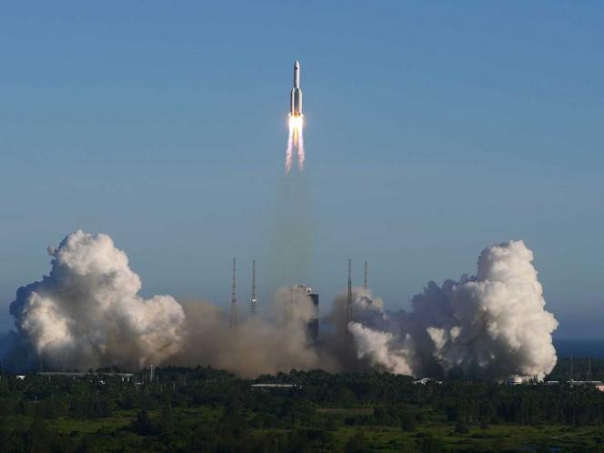 Falla la nueva nave espacial de China y se desintegra