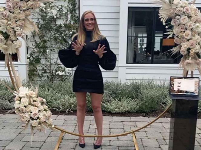 Adele subió el martes una imagen a su Instagram por su cumpleaños 32 / Foto: Tomada de Instagram
