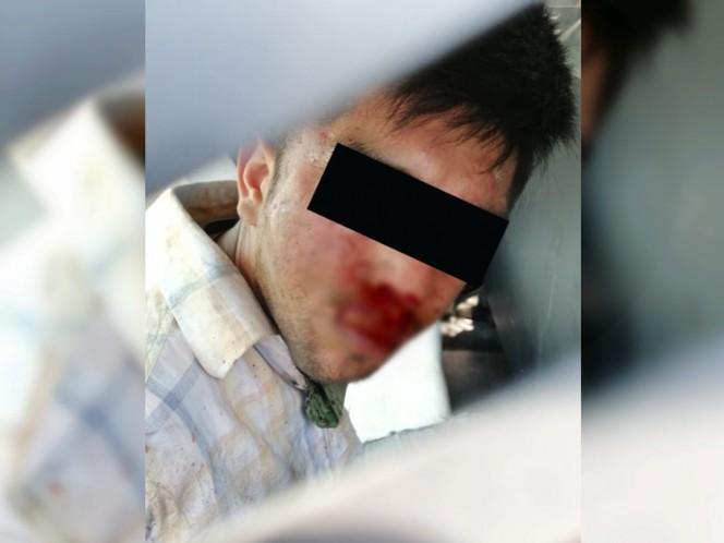 Frustra PDI asalto a camión en Zaragoza; lesiona a ladrón