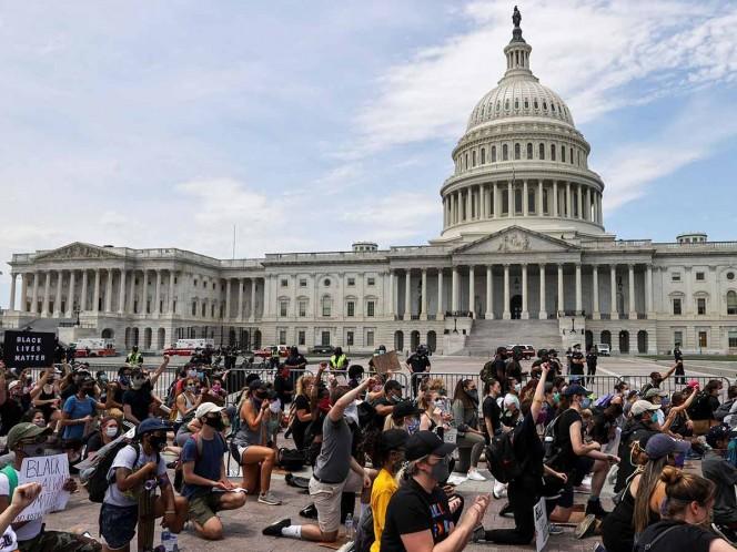 Jefe del Pentágono rechaza militarizar calles, como amaga Trump