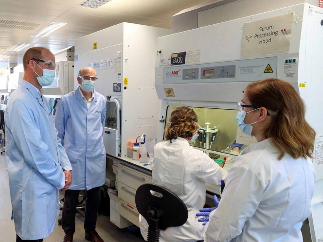 Vacuna de Oxford y AstraZeneca logra respuesta inmune correcta