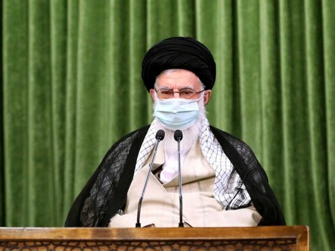 The Supreme leader of Iran calls for