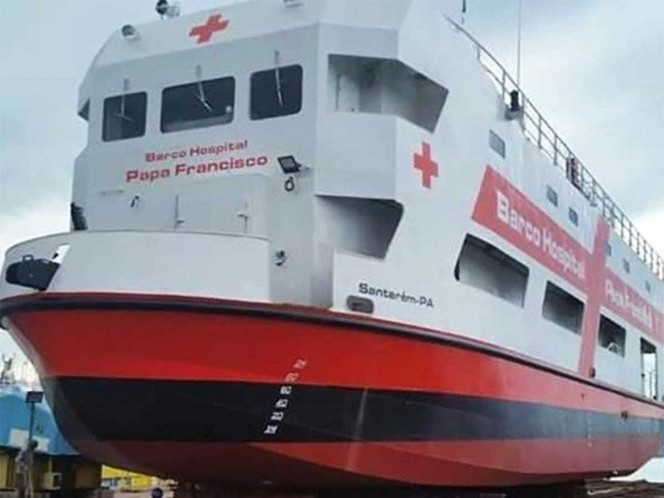 The Pope sends hospital ship on the Amazon, the fight against the pandemic