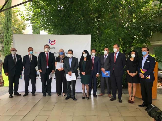 La Secretaría de Relaciones Exteriores y la empresa farmacéutica Sanofi Pasteur, anunciaron la participación de México en el protocolo fase 3 de eficacia de la vacuna de Covid-19. Foto: Especial