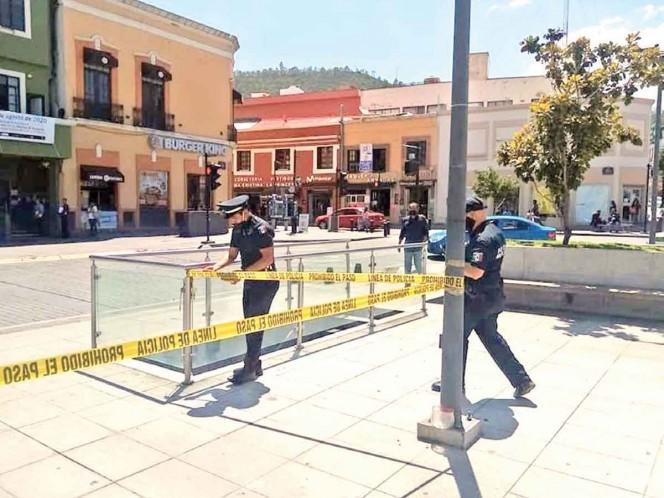 El Cabildo de la capital hidalguense determinó que, de inmediato, se implementa el uso de las mascarillas. Foto: Especial