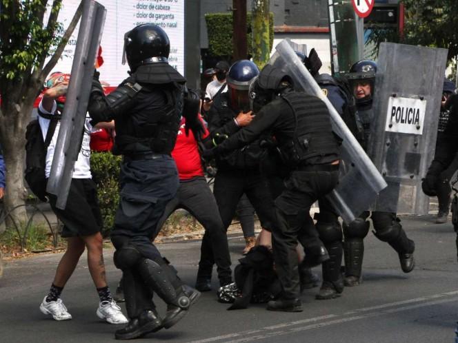 Presenta CDMX acuerdo para actuación policial durante manifestaciones