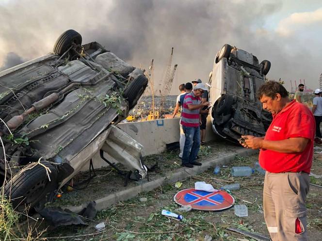 Explosión en Beirut: 'Es una catástrofe, los hospitales están llenos', ministro de Salud