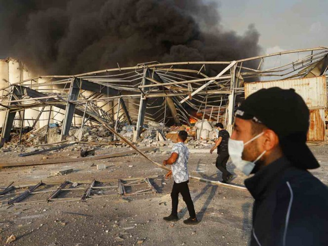 Qué es el 'Nitrato de Amonio', causa de explosión en Beirut