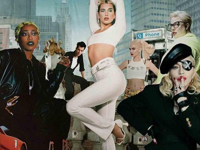 Club Future Nostalgia The Remix Album con Madonna llegará el 21 de agosto. Foto: Instagram dualipa
