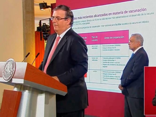 México participará en otros ensayos clínicos de la vacuna contra coronavirus