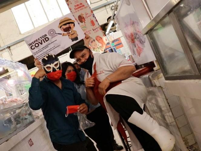 Arranca 'Inspector covid', campaña que busca frenar contagios en Xochimilco