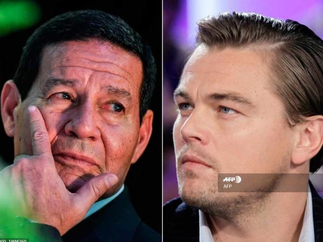"""DiCaprio expresó preocupación de que las quemadas """"no estén recibiendo suficiente atención"""" en Brasil. Foto. afp"""