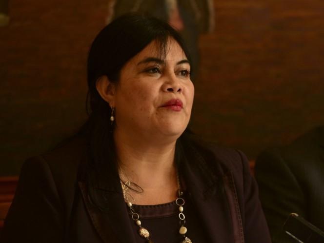 La diputada Guadalupe Chavira de la Rosa presentó una iniciativa de Ley de Garantía de Empleo para la Ciudad de México. Foto: Cuartoscuro/Archivo