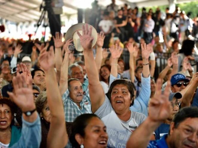 Apoyos sociales llegan a 7 de cada 10 hogares mexicanos