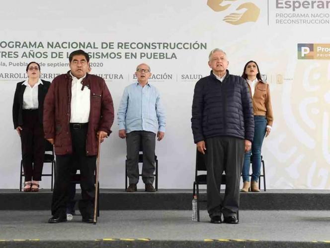 En su mensaje, Barbosa Huerta afirmó que van en la ruta correcta para superar la crisis provocada por el coronavirus. Foto: Cuartoscuro
