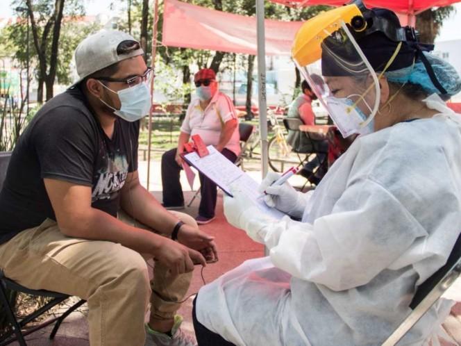 Estrategia en 158 colonias en Rojo por covid-19 evita aumento de hospitalizaciones