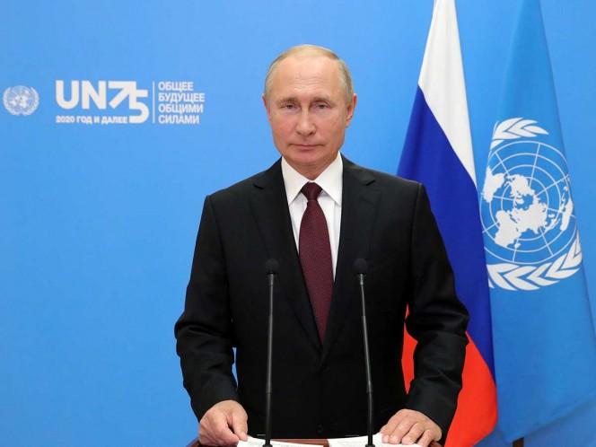 Putin defiende ante la ONU la vacuna rusa contra COVID-19