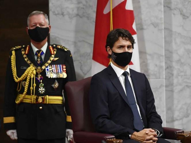 Trudeau anuncia que Canadá está en segunda ola de coronavirus
