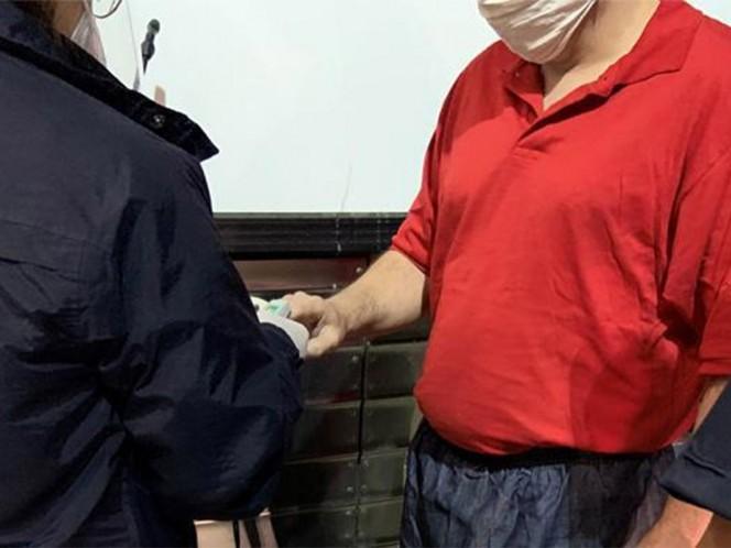 Los internos fueron llevados al Instituto Correccional Federal La Tuna en Vinton, Texas, para esperar su transferencia y asegurarse de que estuvieran dispuestos a ser deportados.