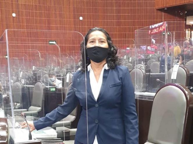 Diputada de Morena confiesa en tribuna haber sido corrupta