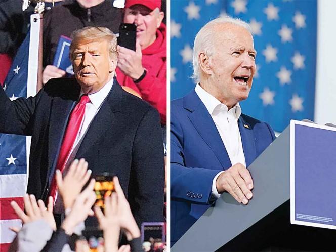 Biden y Trump se pelean por estados clave