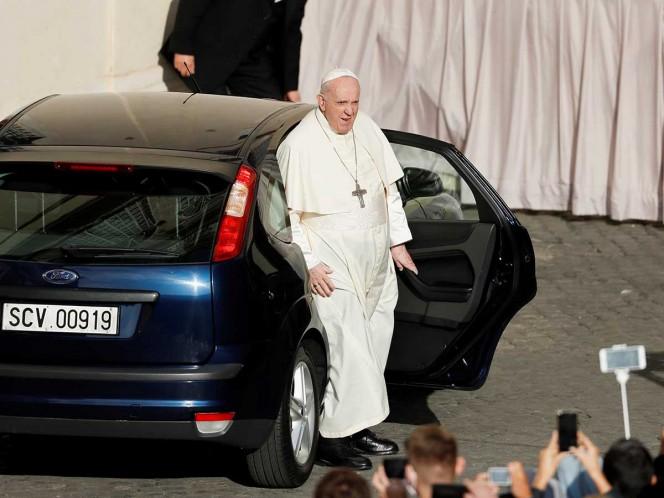 Reportan caso de covid-19 en residencia del papa Francisco
