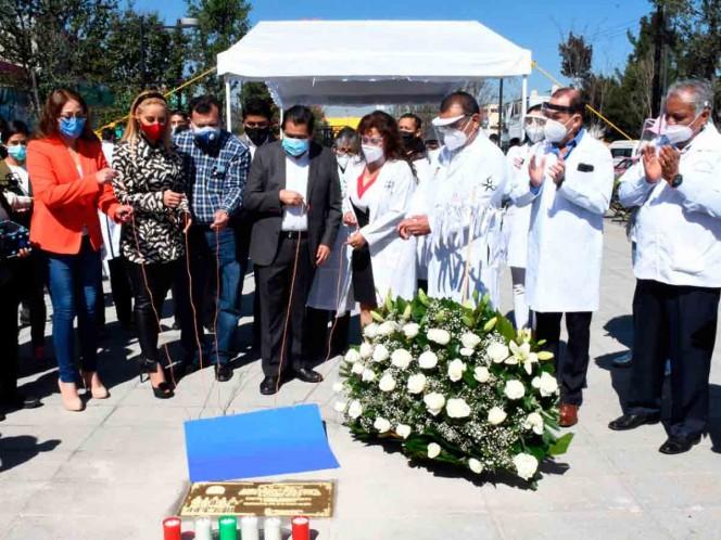 Tan sólo en Nezahualcóyotl han perdido la vida 63 médicos y 40 del personal de salud durante la pandemia. Foto: especial