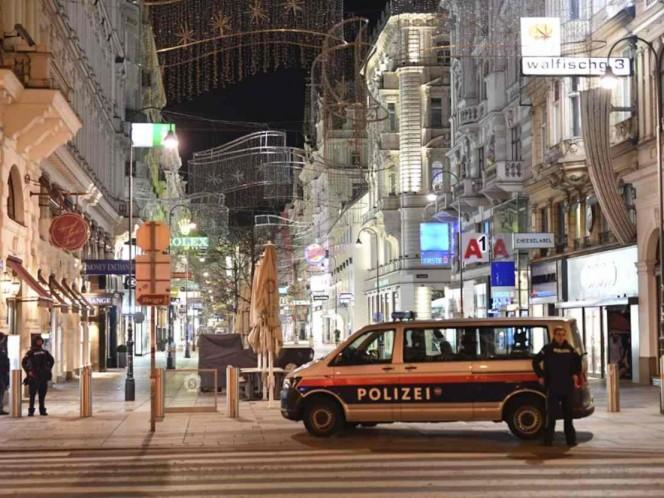 Tiroteo deja varios heridos en Viena; policía abate a un presunto atacante